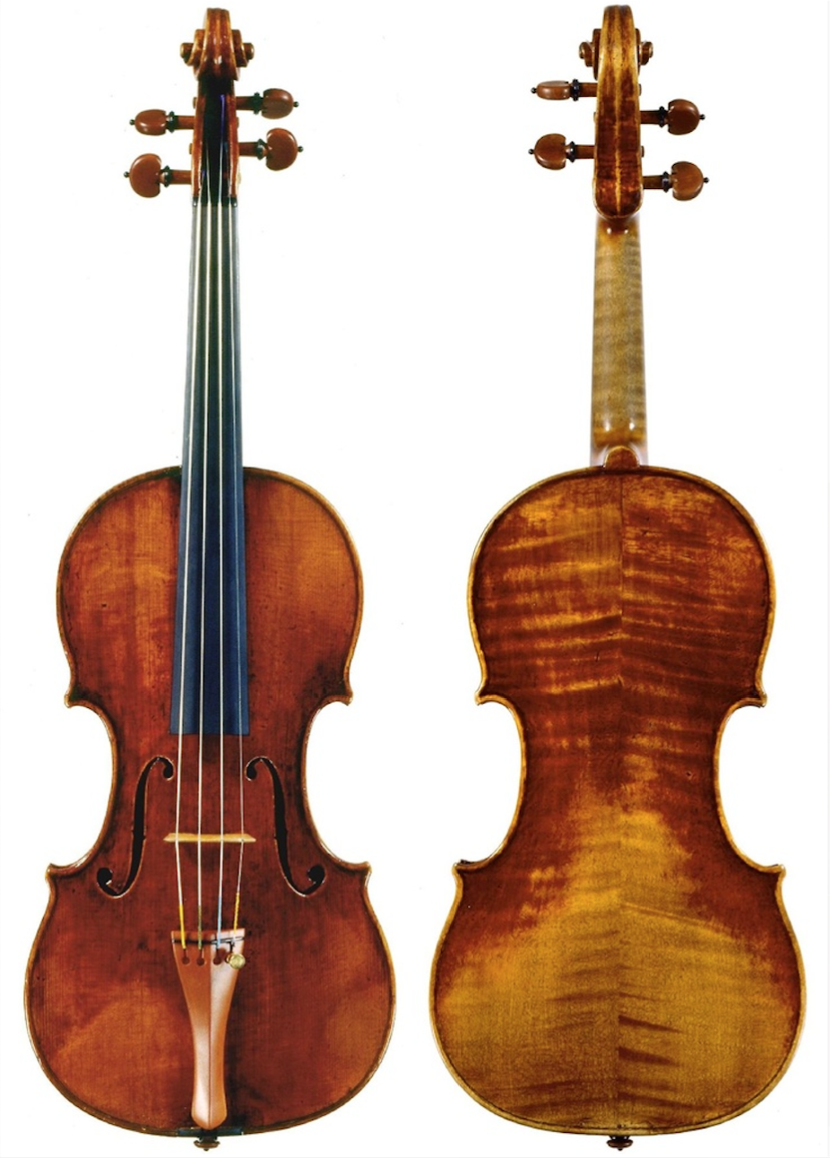 Violin by Guarneri, Giuseppe 'del Gesu'  (Cremona, 1732)