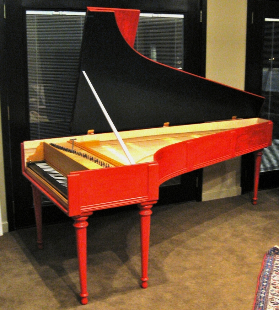 Cristofori fortepiano  Opus 444 made in 2012