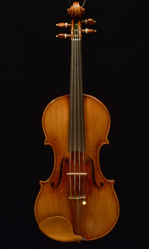 Violin   by   Keith    Hill  opus   472 / 509   retuned  in   January   2018