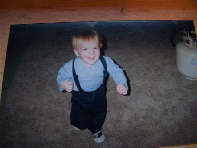 3 year old Japheth.