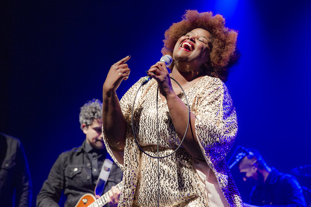 THE SUFFERS // Kam Franklin   © Mandy Pichler 2017