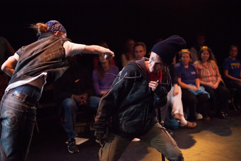 Riot Grrrls' Titus Andronicus photo by Brittany Diliberto
