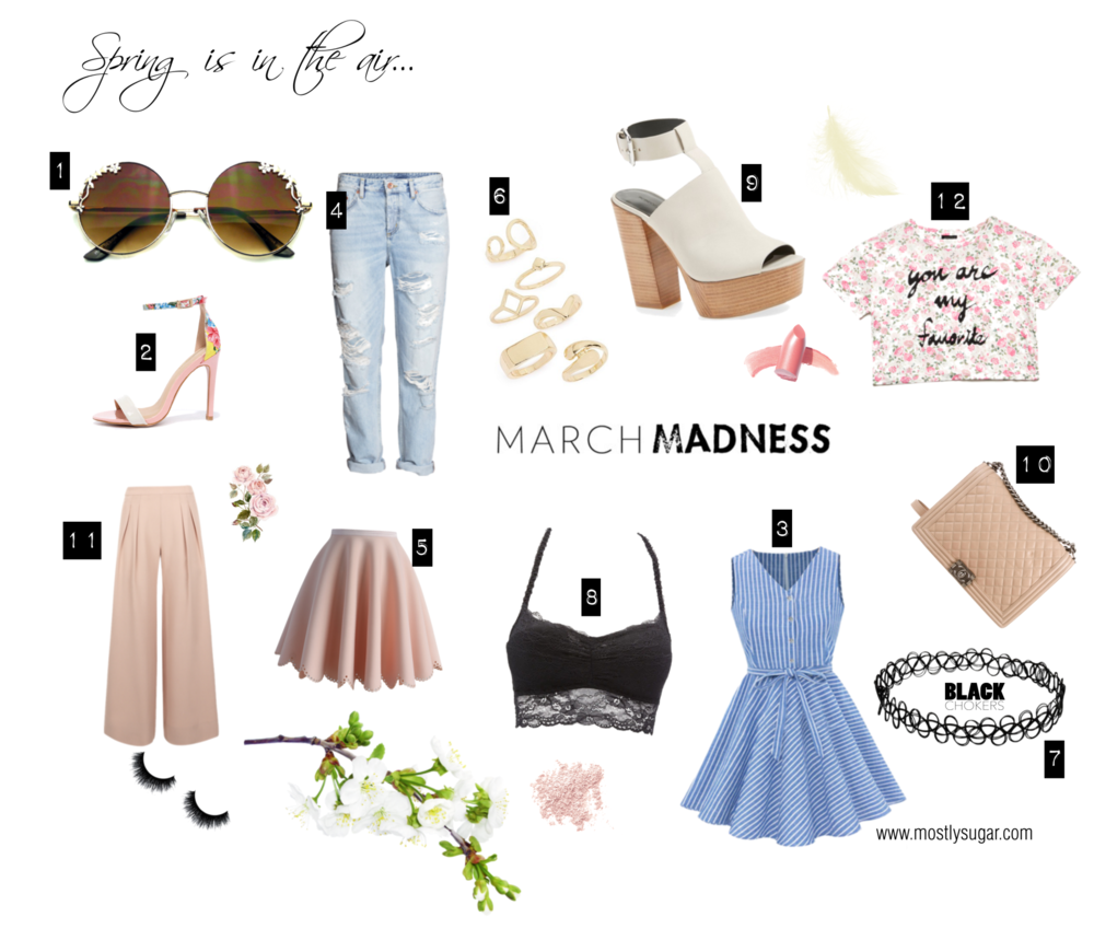 March Spring Style Wish List