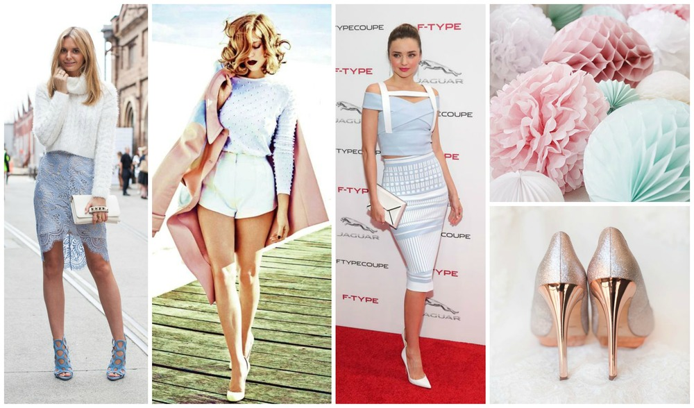 Pastels Everywhere Collage - Pastel Fashion Trends