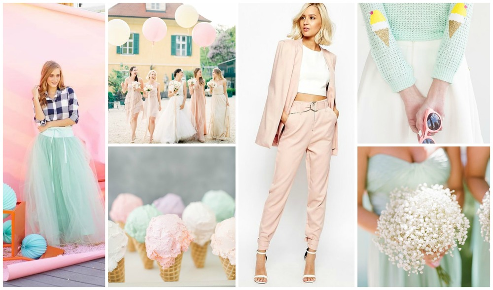 Pastels for every occasion.