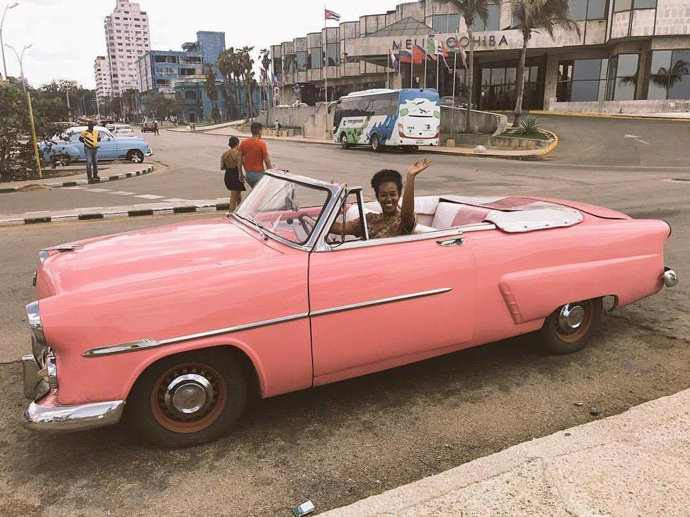 Wanderlust Wad in Havana, Cuba.