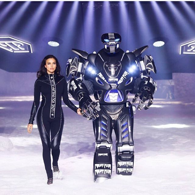 Philipp Plein had a pretty dope runway show. #NYFW #runwayfashion @philipppleininternational @philippplein78