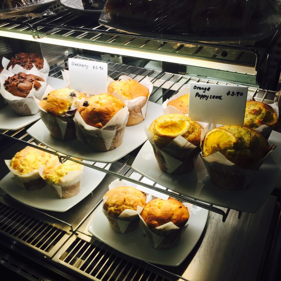 Melting Pot also sells some cakes and muffins