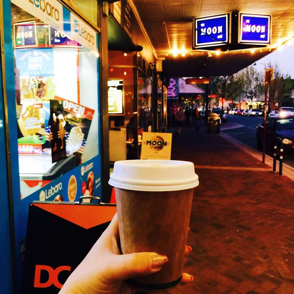My take-away coffee