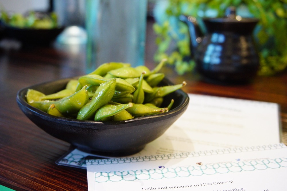 Edamame at Miss Chow's