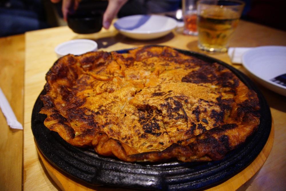 Gami's Kimchi Pancake