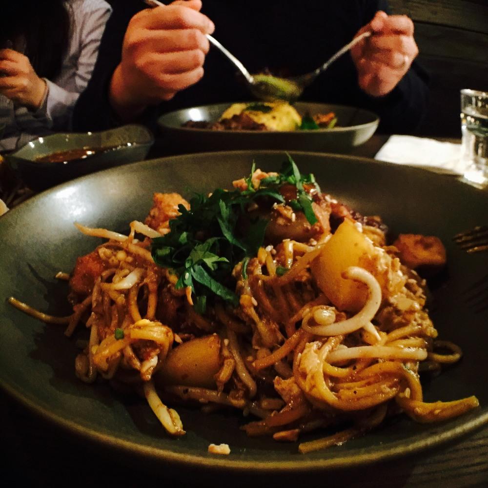 Mamak Noodle at Nasi Lemak Korner, Como