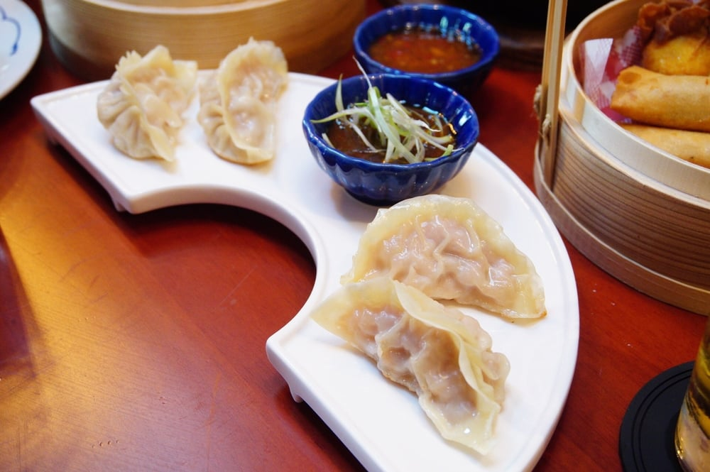 "Mama Mui's ""Mostly Cabbage, Little Pork"" Pan Fried Dumplings"