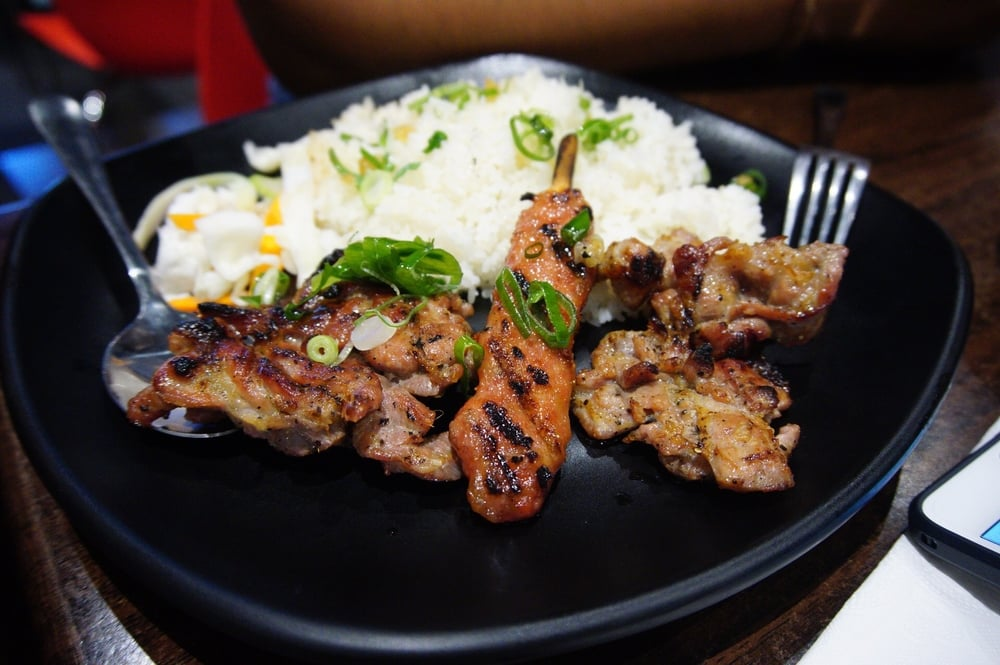 3 Regions Meat Combination with Rice - $15