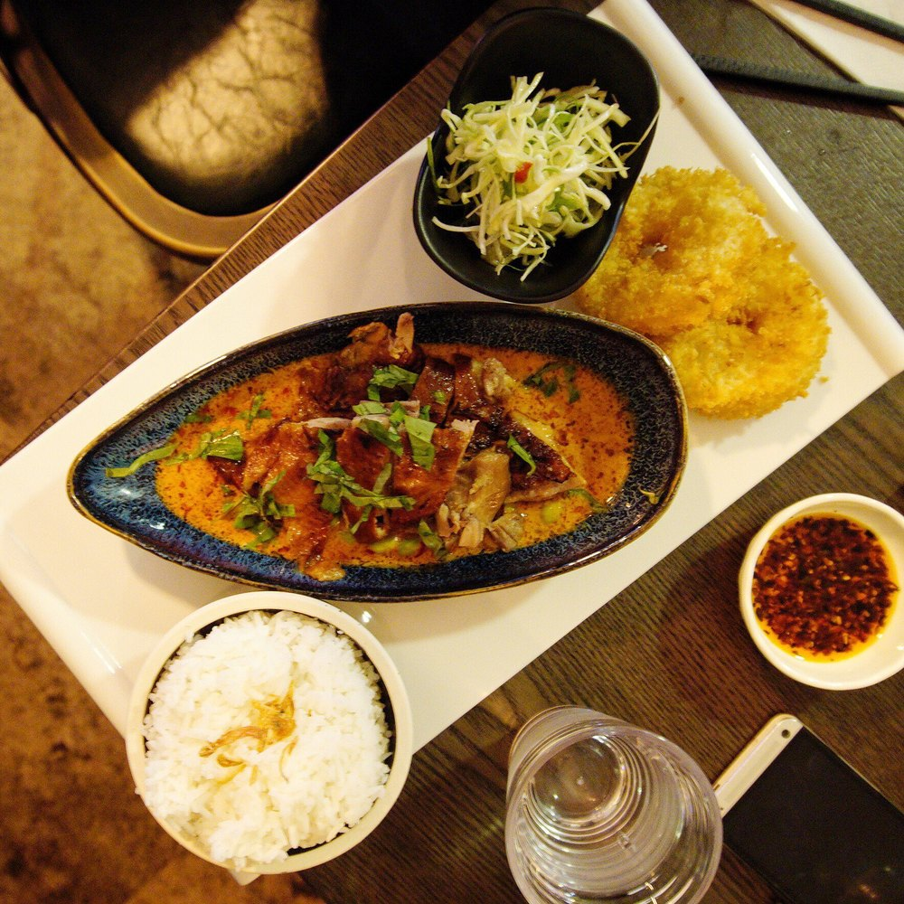 Tamarind Duck Curry at Mouthful Duck