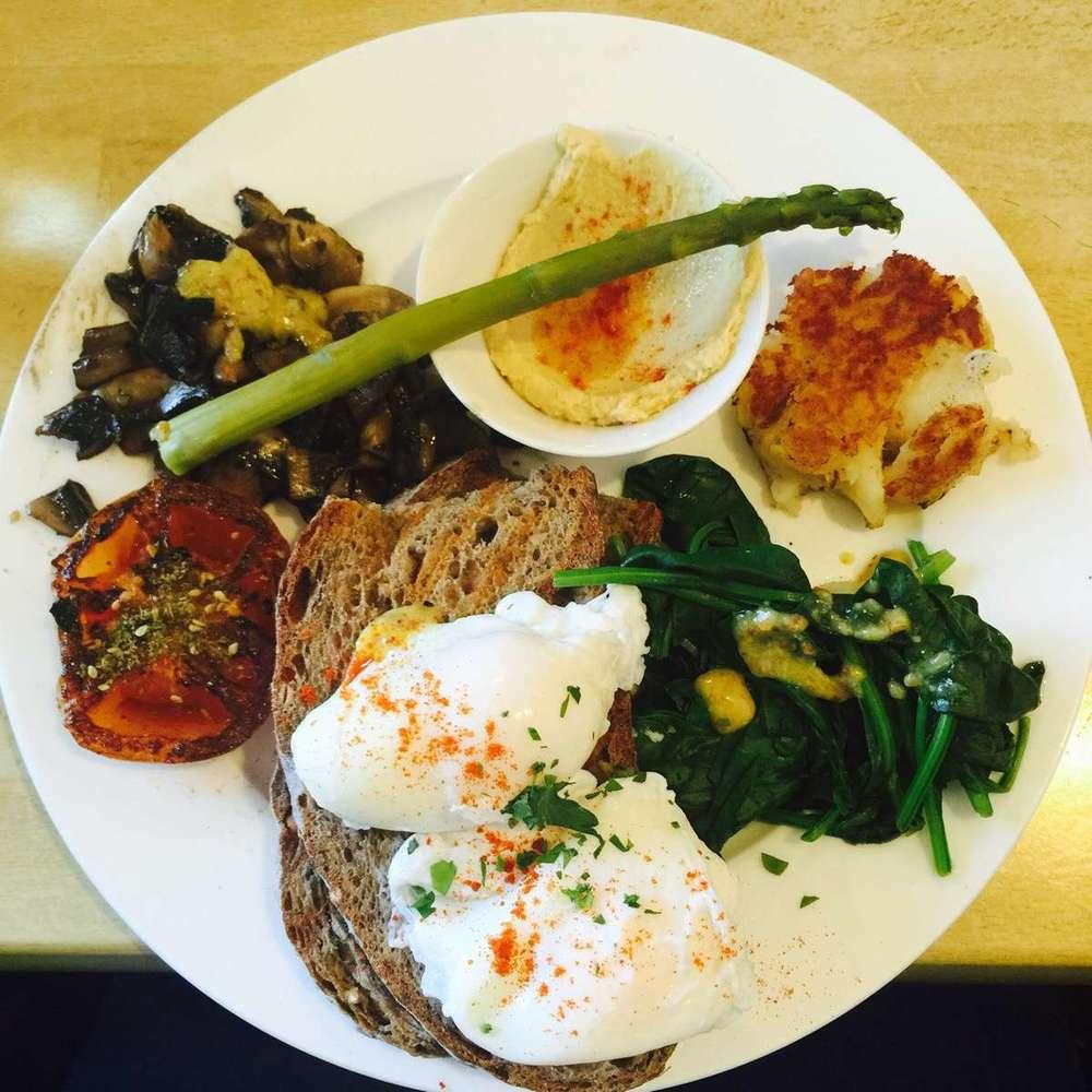 Full Breakfast (GF/V available)