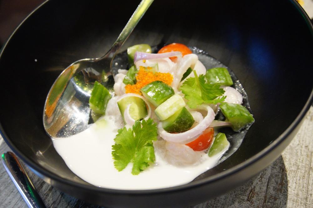 Kinilaw (Raw)Fish at Wok St Chow