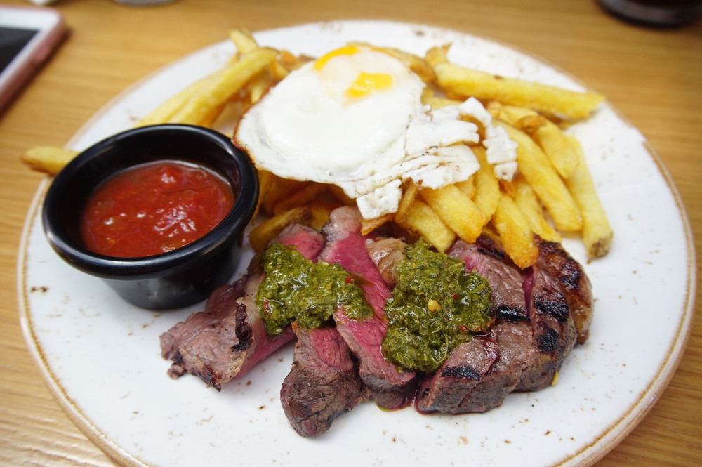 Asado BBQ Rump Steak Chimichurri