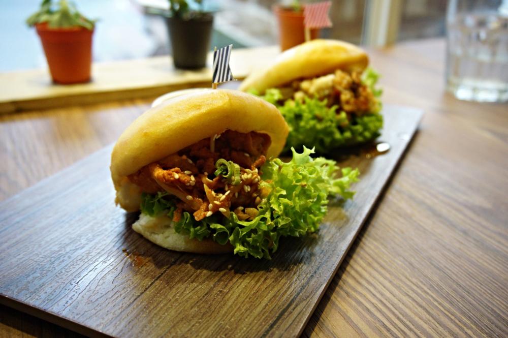 Pork Bulgogi Bao, ready to be demolished!