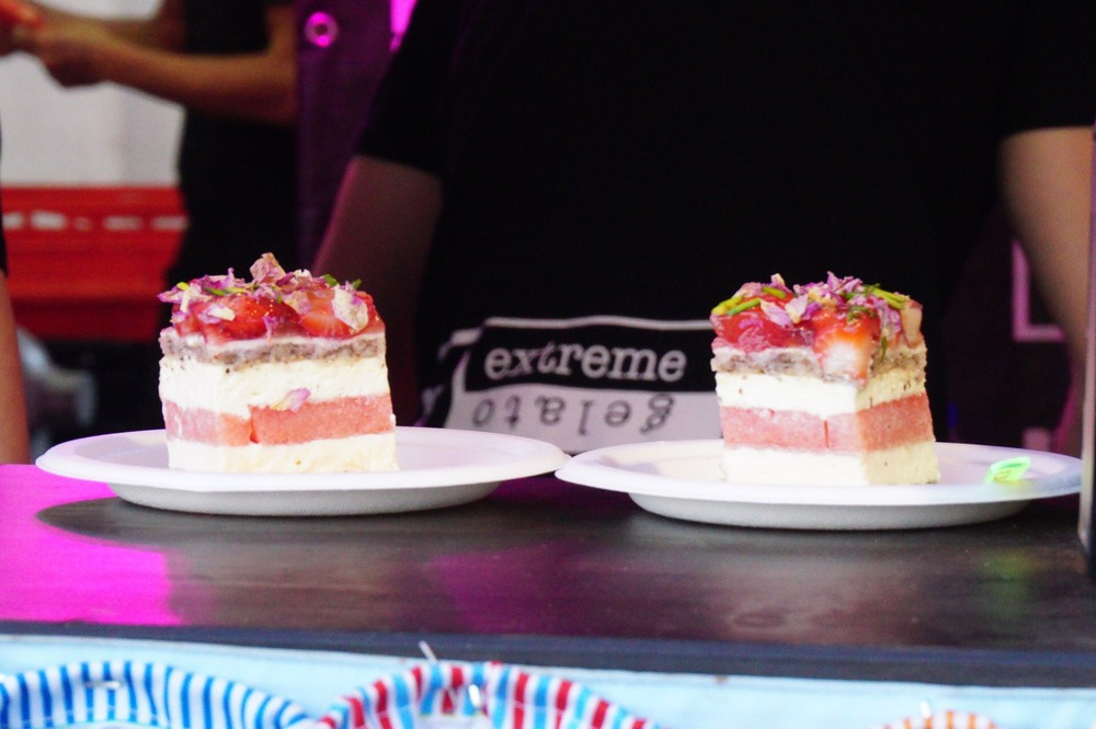 The famous Watermelon Cake