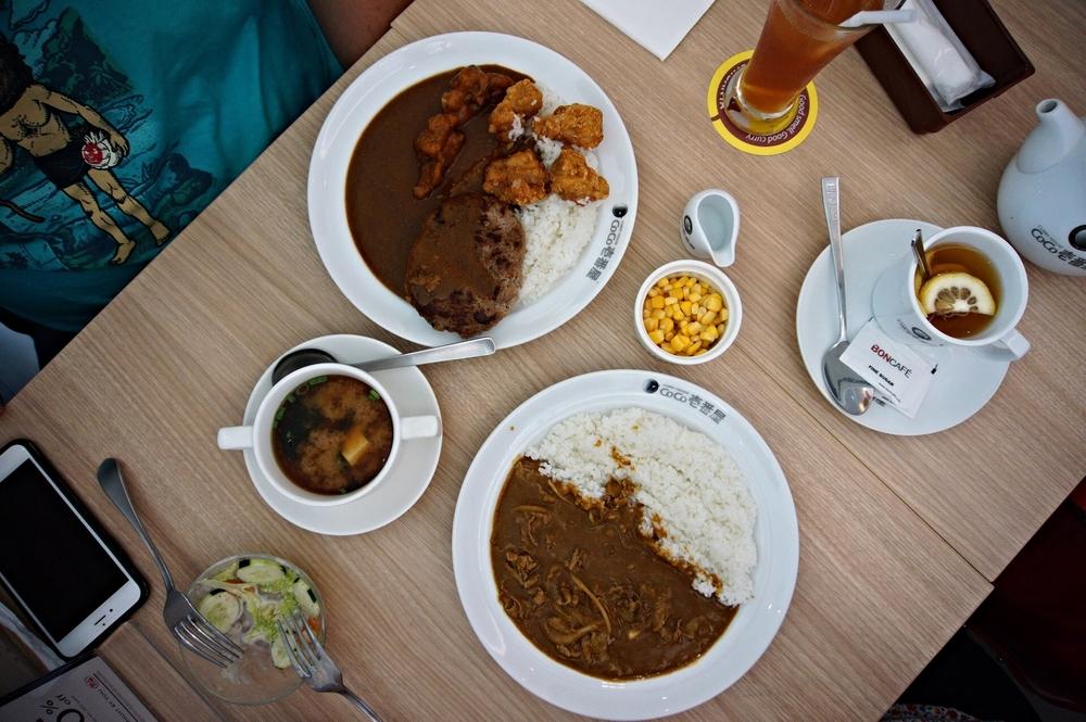 Coco Ichibanya Singapore Beef