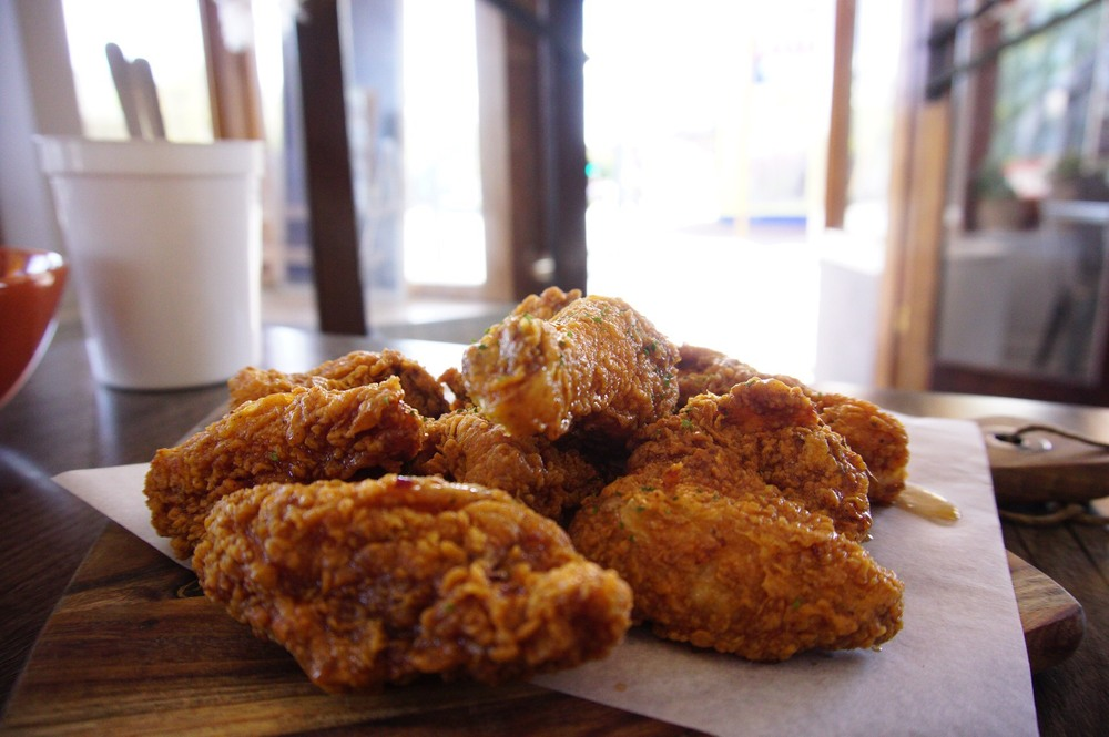 Honey Soy Fried Chicken - always delicious!