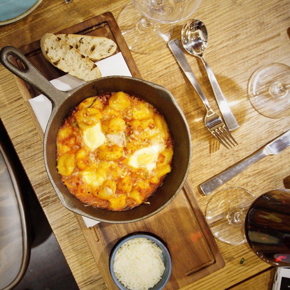 Julio's Restaurant Baked Gnocchi