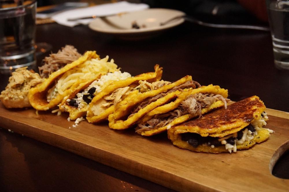 Cachapas' polenta skin was amazing!