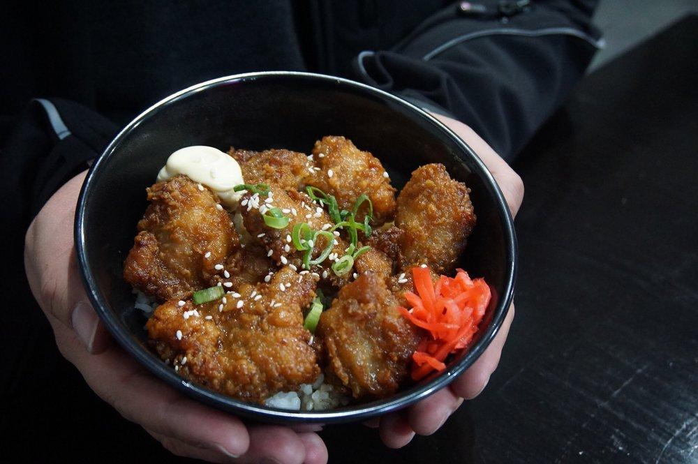 Spicy Karaage Chicken Donburi