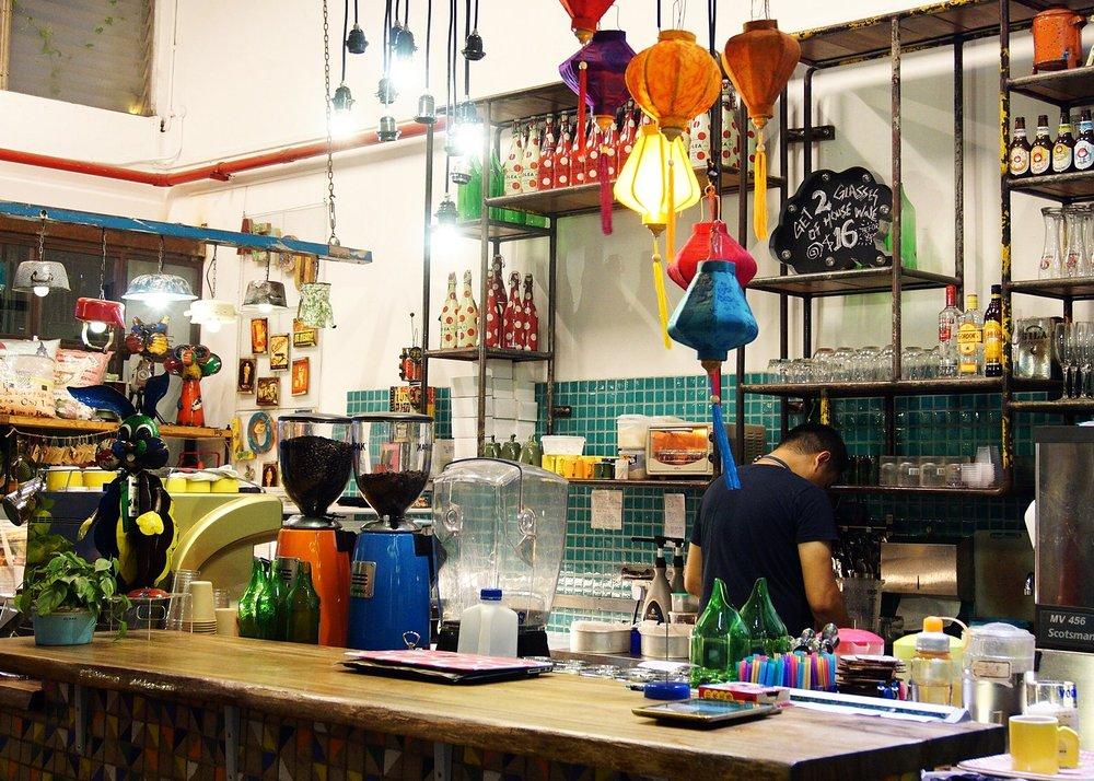 Cafe AEIOU Singapore