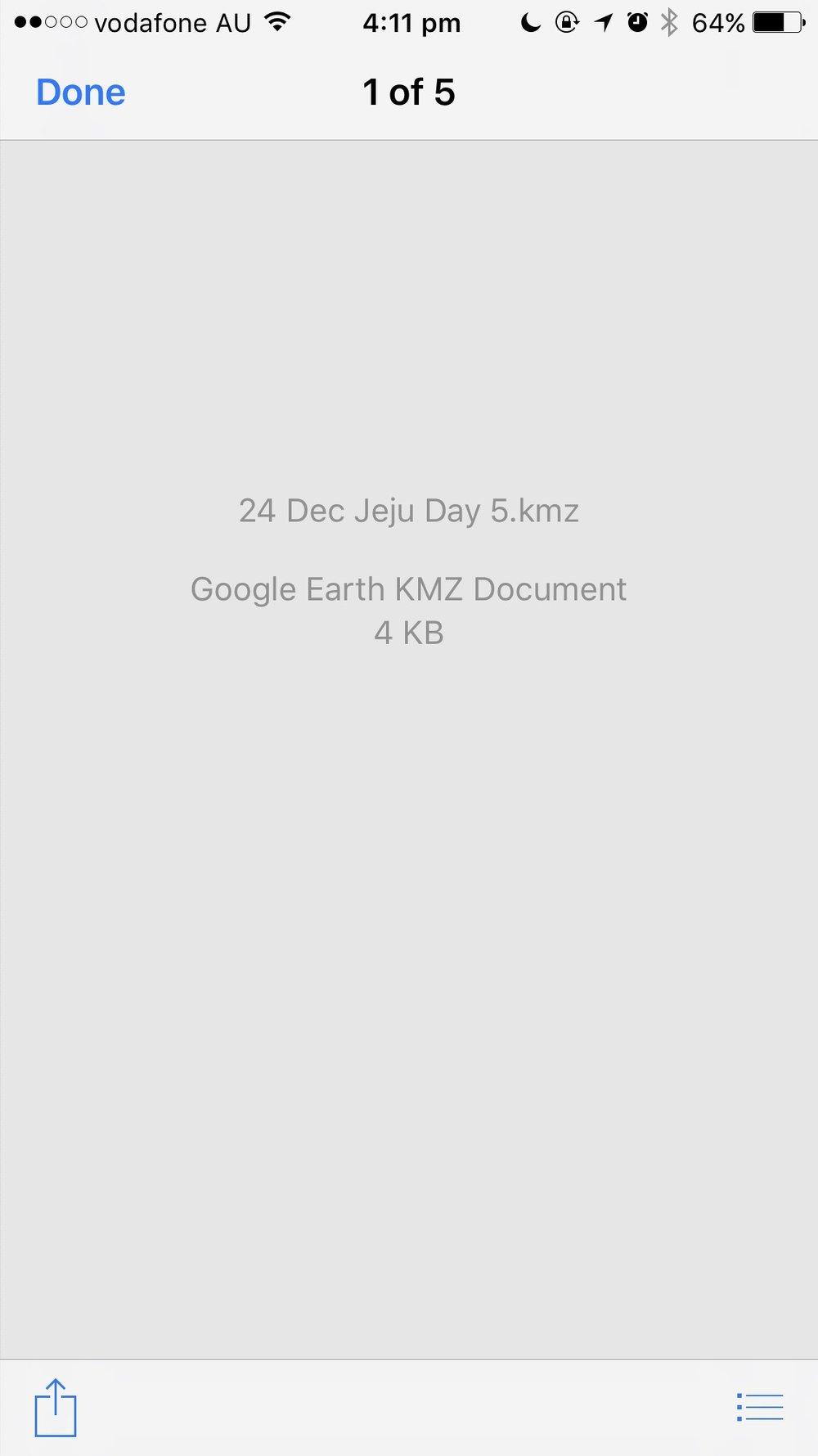 Google Map KMZ Map