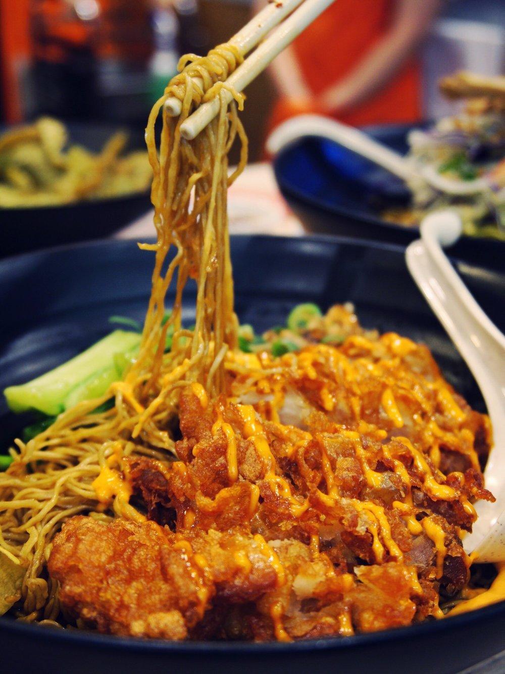 Noodle Forum Crispy Chicken Fillet Noodle