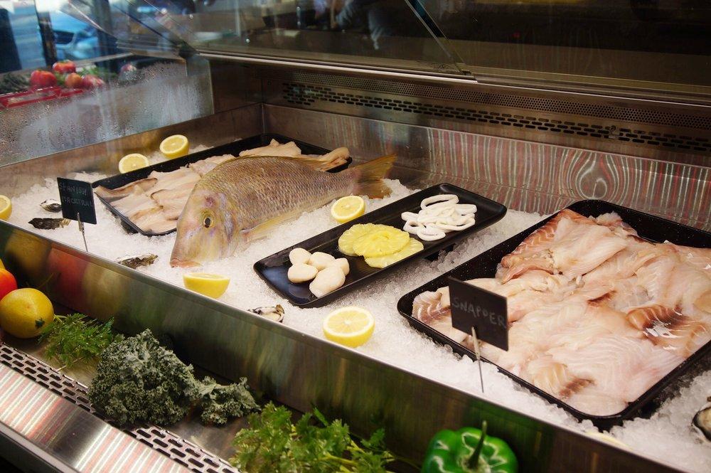Fresh Seafood at Starfish Bar Mt Lawley