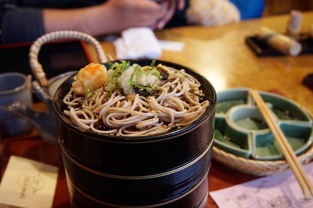 Hourai Soba at Honke Owariya Kyoto