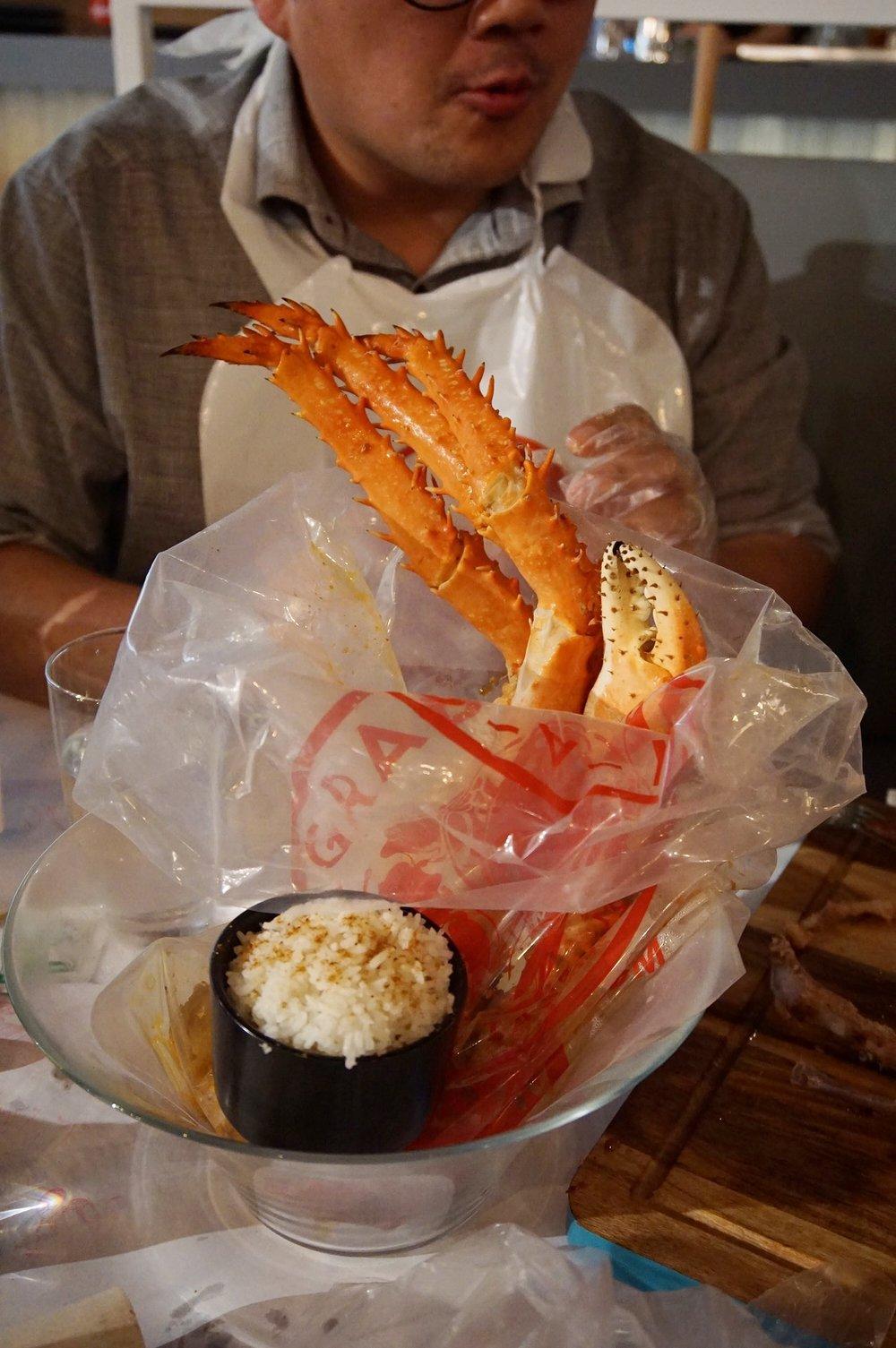 Grab a Yabby crab