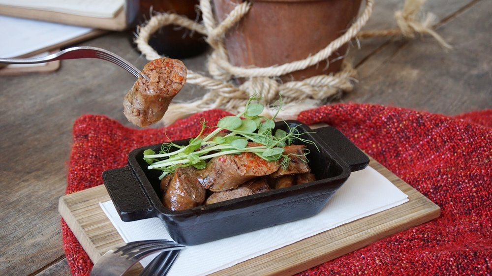 Lamb Sausage Samson's Paddock