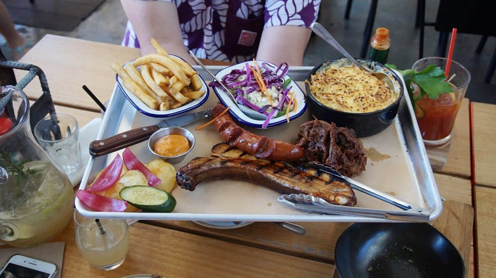 Side Door BBQ Platter for 1