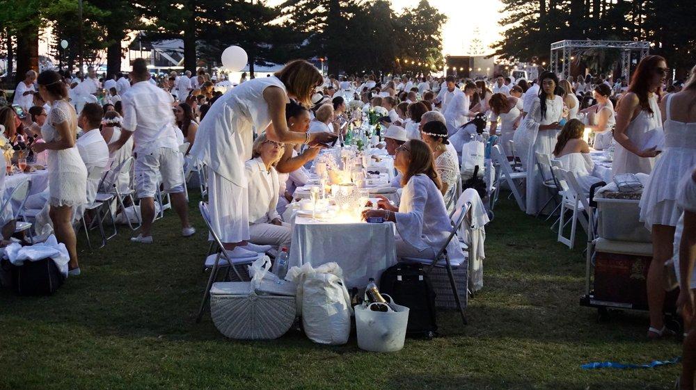 Diner en Blanc Park