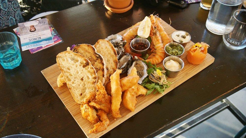 Seafood Platter - $48