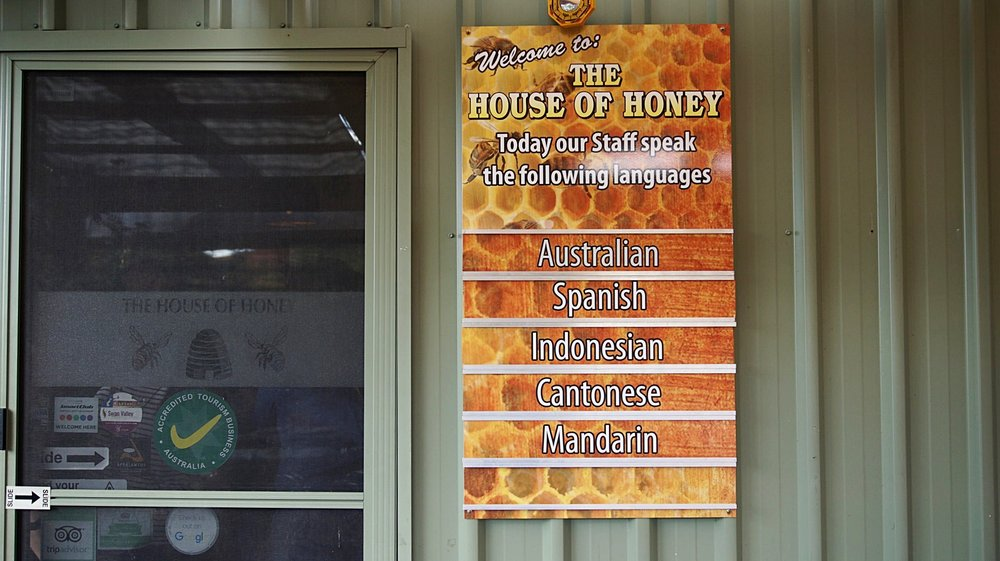 Cater to Different Language House of Honey