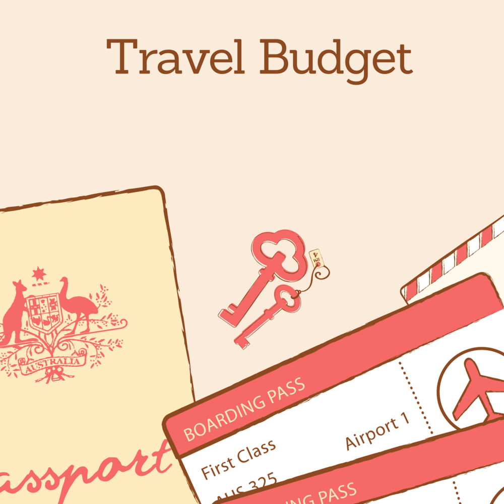 Free Travel Budget Template -