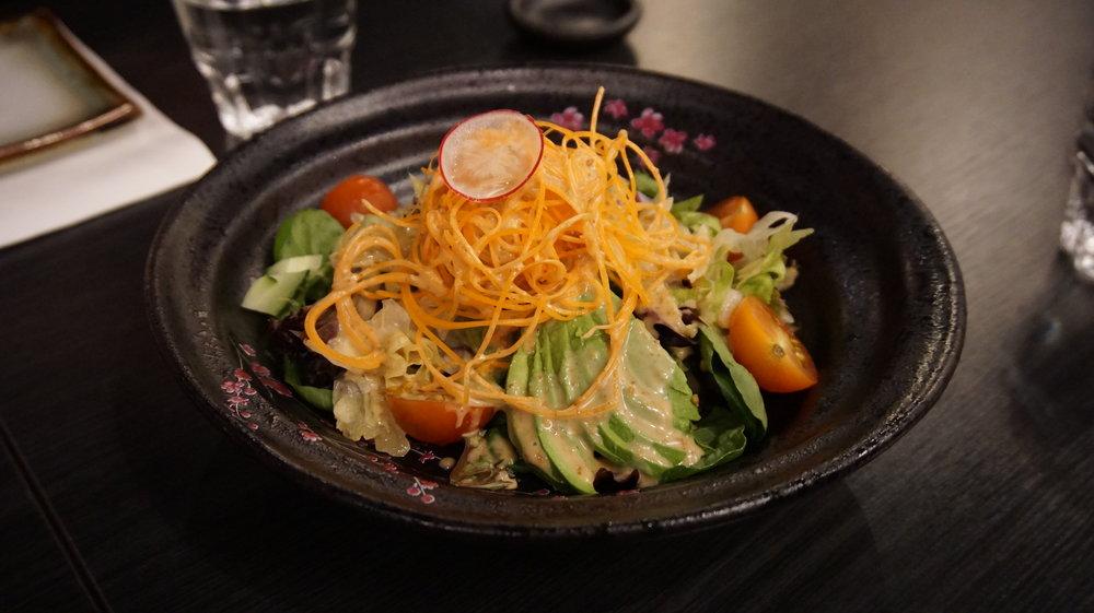 Salad Sakura Sake