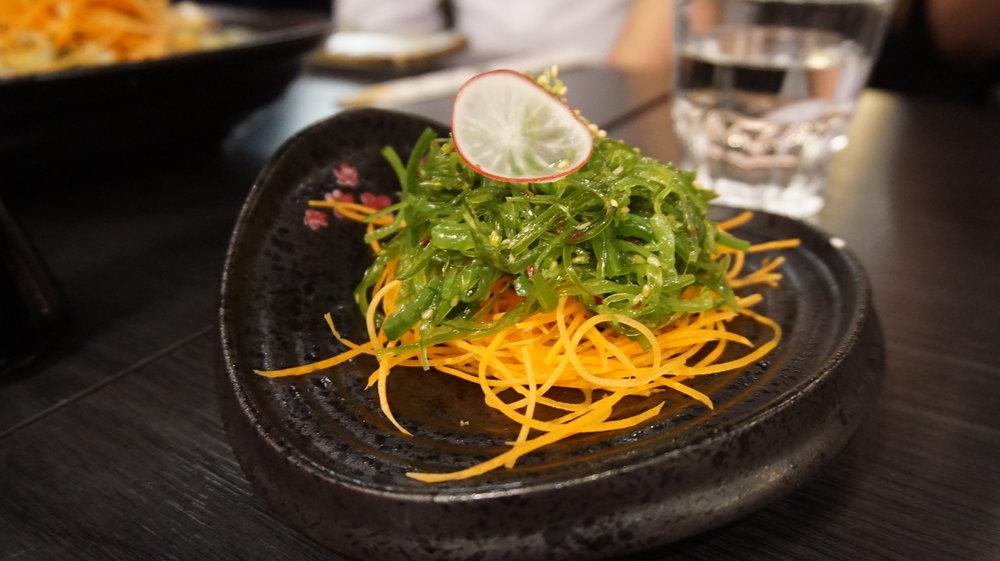 Seaweed Salad Sakura Sake