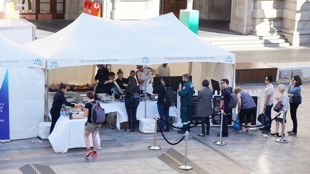 AGL Free Breakfast Perth