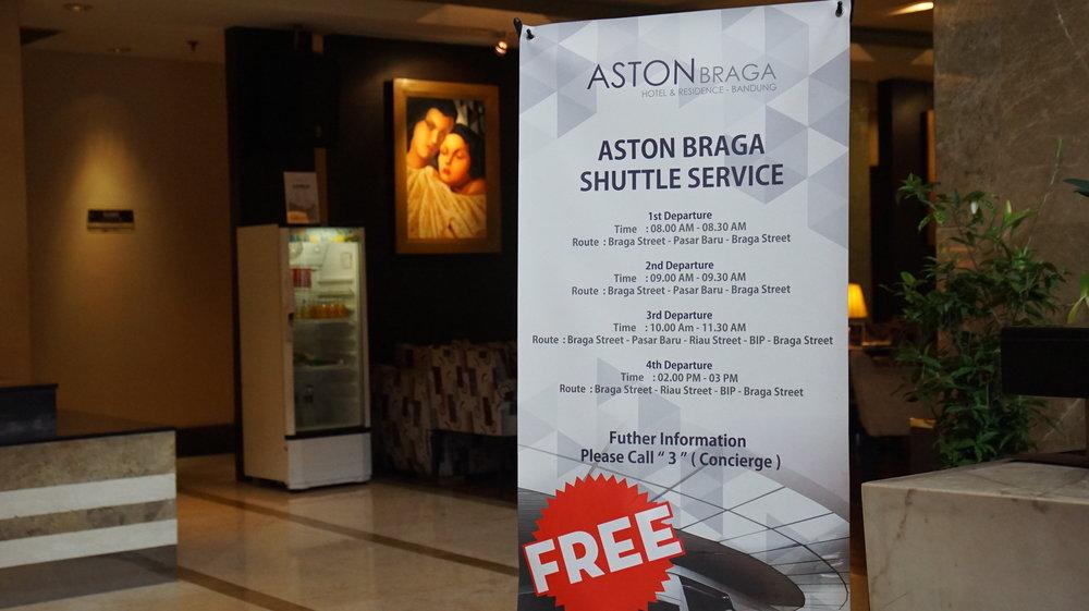 Free Shuttle Aston Braga
