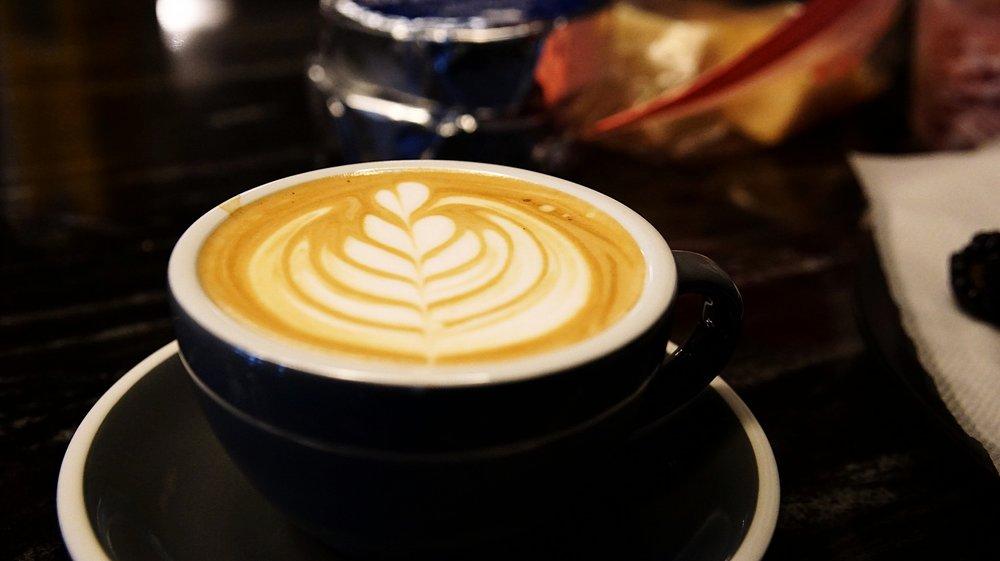 Cafe Leadman coffee
