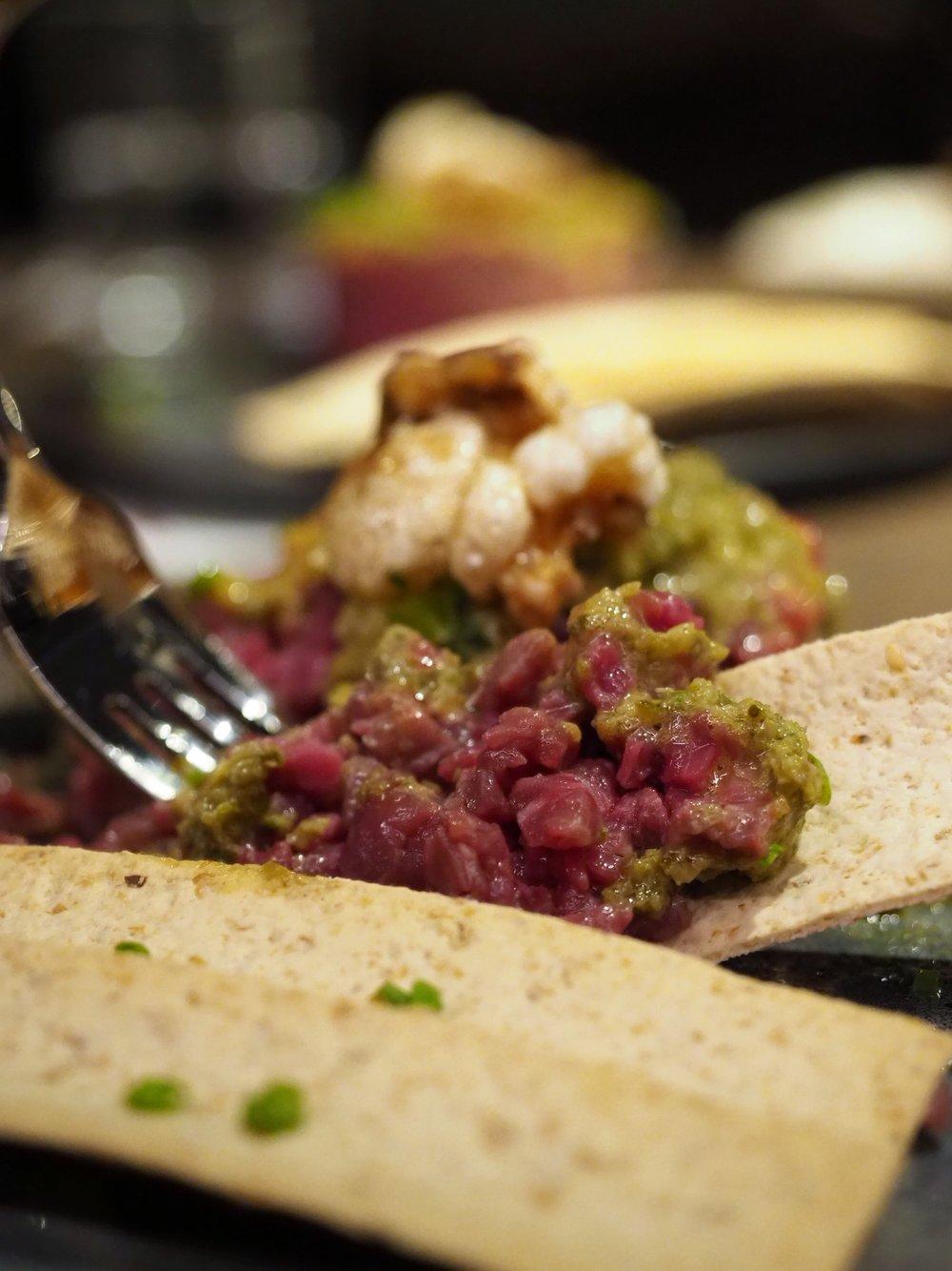 Wagyu Tartare Meat Wine & Co