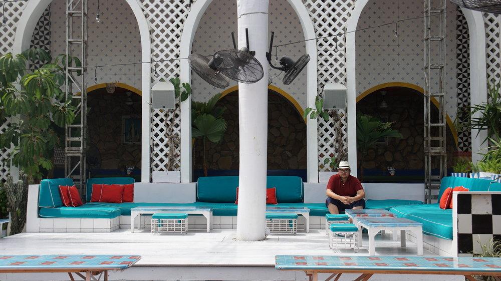 Andrew at Mexicola Bali