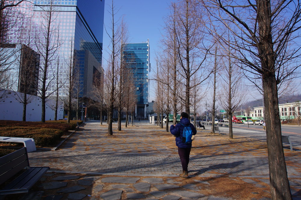 Walk to Digital Media City