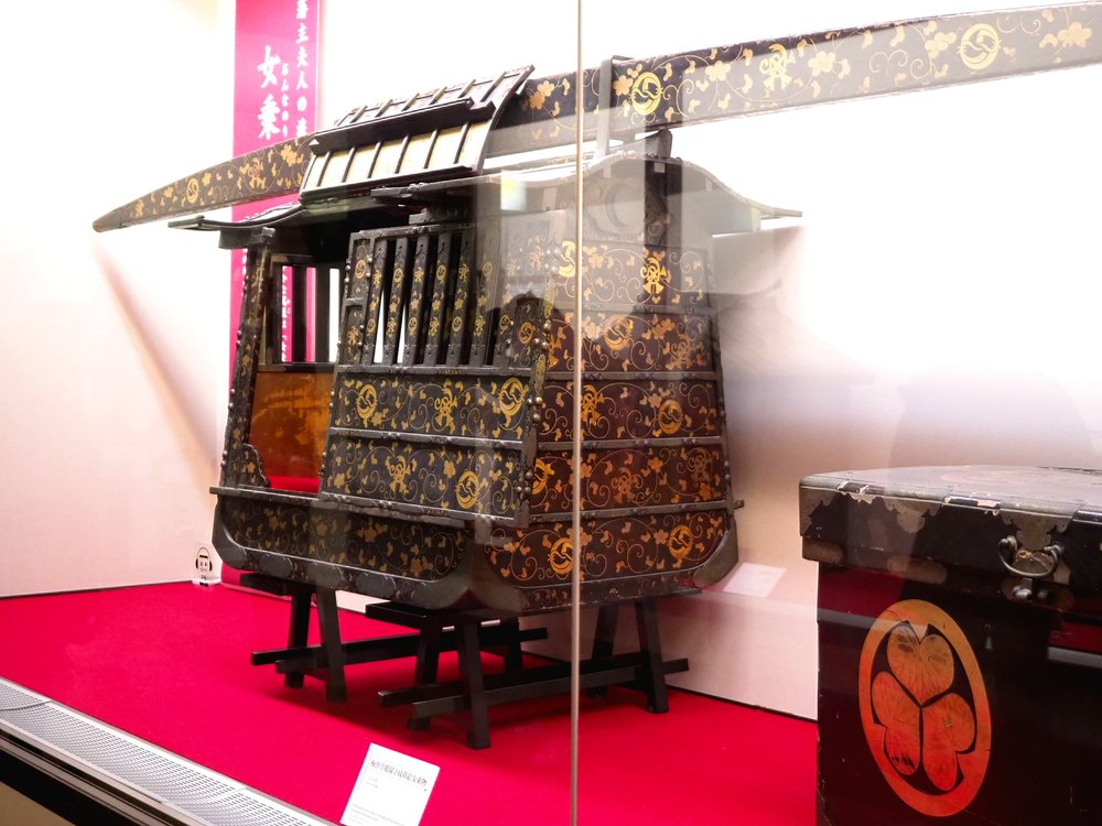 Wedding Palanquin with Bride's Family Crest
